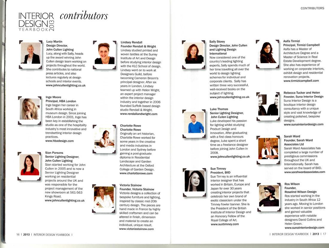 Interior Design Yearbook 2013 3