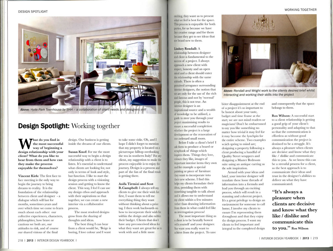 Interior Design Yearbook 2013 7