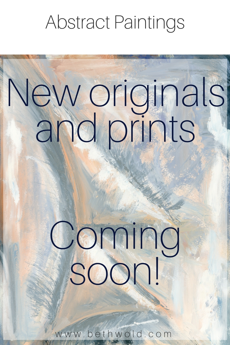 New originals and prints come soon.