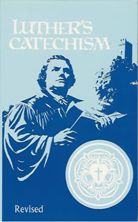 Click Luther's Catechism to get to the confirmation page