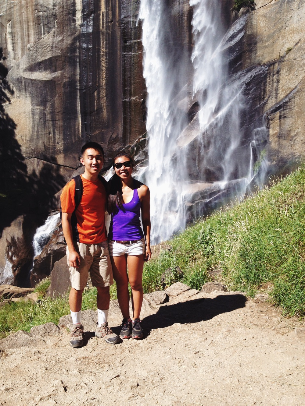 Eric and I at Vernal Falls