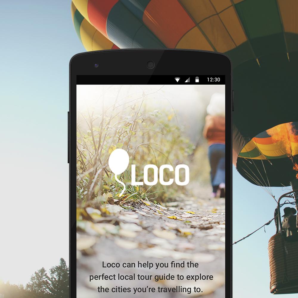 Loco  -  UX Design, Interaction Design