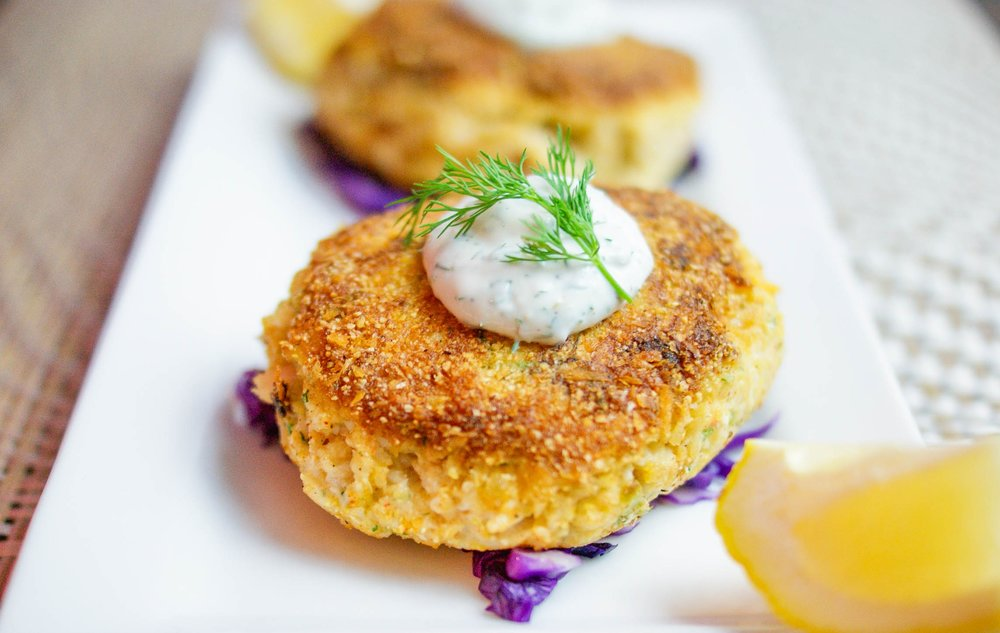 fresh Louisiana crabcakes