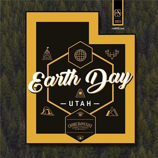 Earth Day turns into a whole week of festivities to honor the environment 🌵🌳🍃💚 Green light these activities @churchandstate1893  #earthday #slc #downtownslc #coworkingspace #communityfirst #utahgram