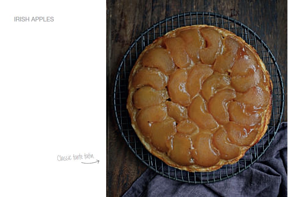 apple tarte overhead crop