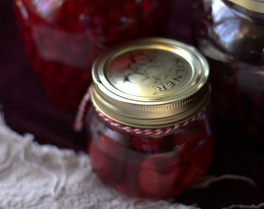 cranberry jars