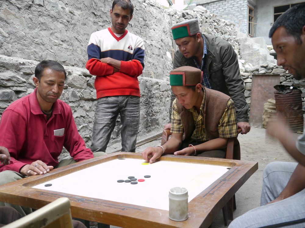 Not sure what this game is called, but the locals loved to play!