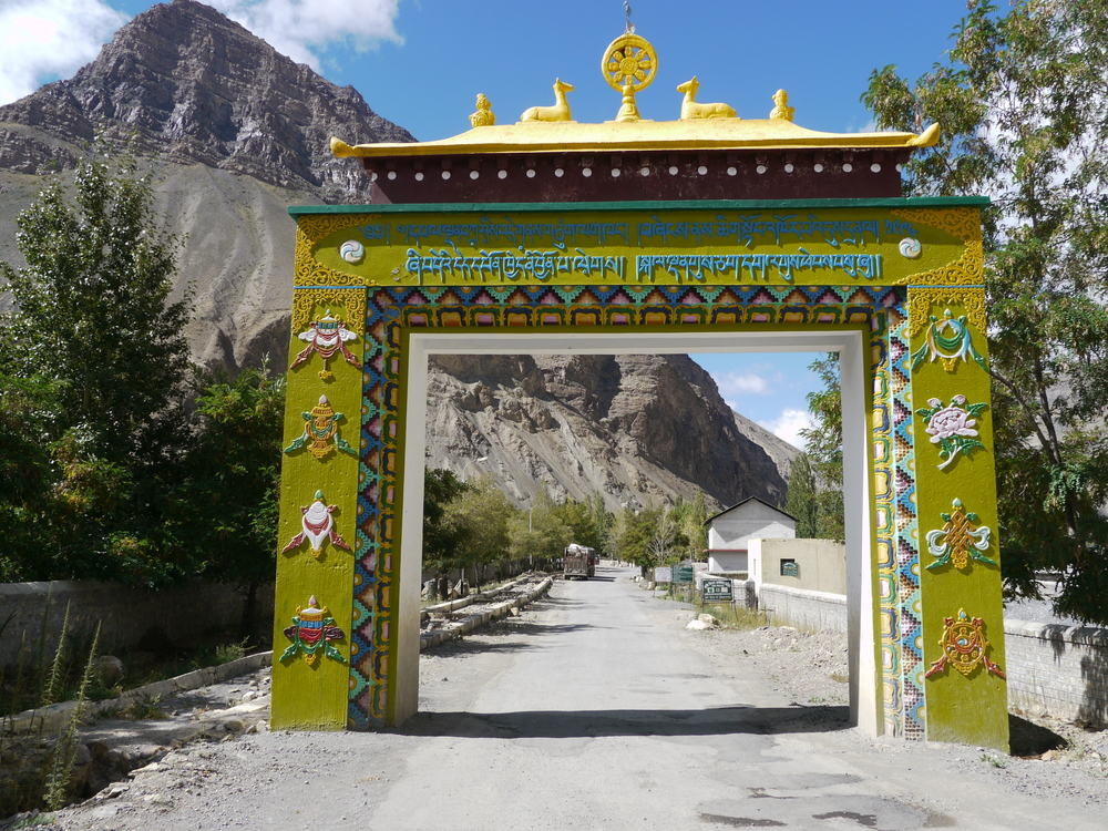 Welcome to the town of Tabo home of the ancient Tabo Gompa 996AD.