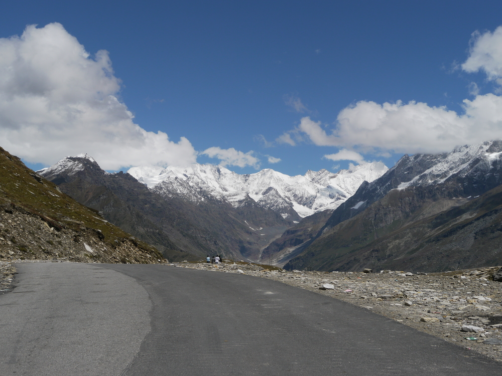 The view from Rohtang La.