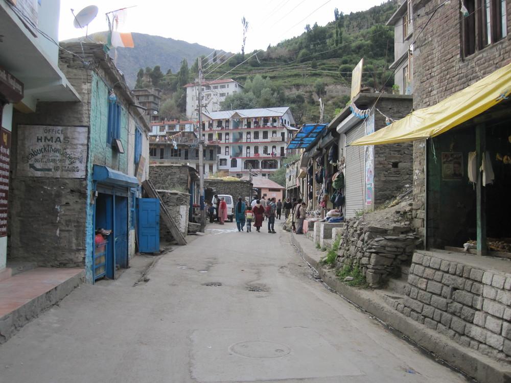 Down town Keylong