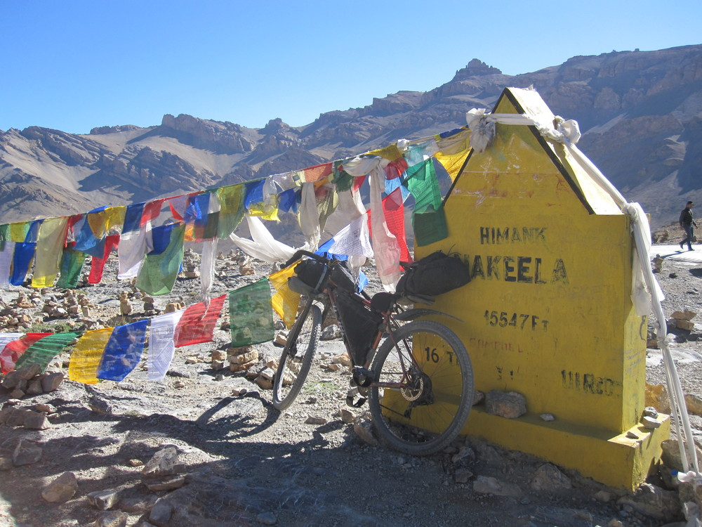 Top of Nakeela La (4937m)