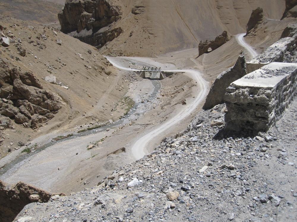 The descent is not always easy!