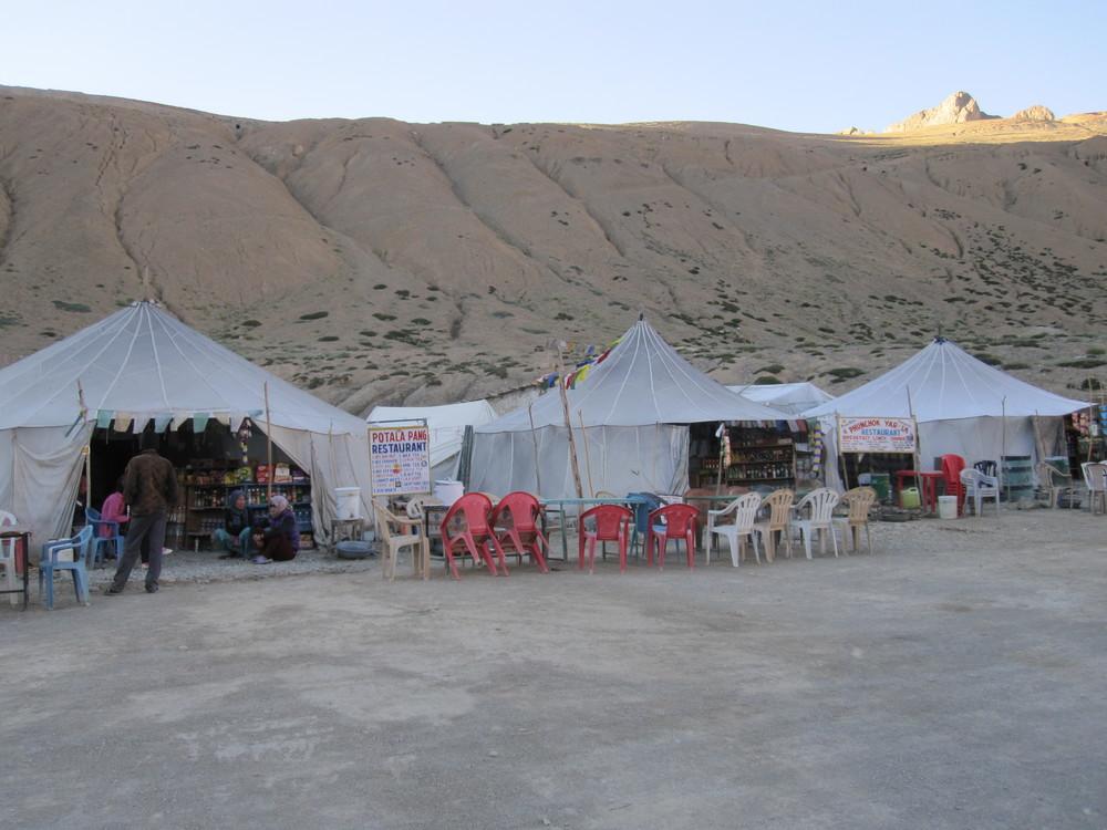The parachute village of Pang.