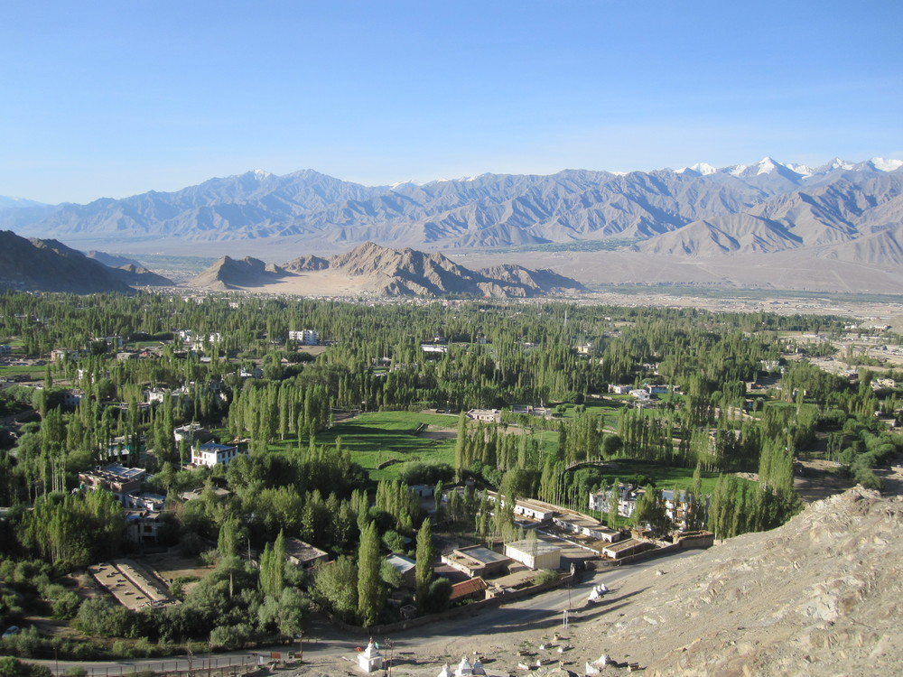 The town of Leh.