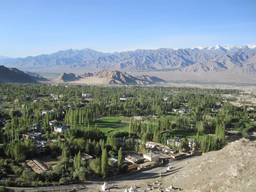 The town of Leh.