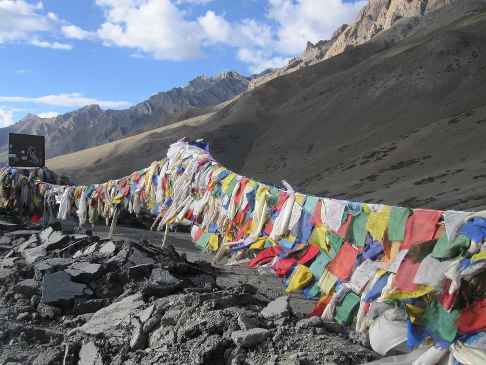 Top of Fotu La (3105m)