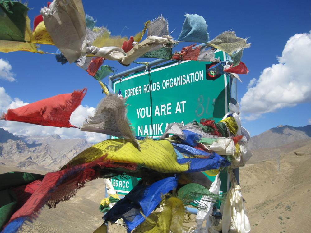 Top of Namika La (3827m)