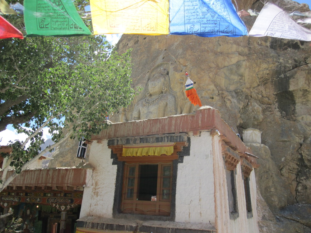 Maitreya Buddha, Mulbekh