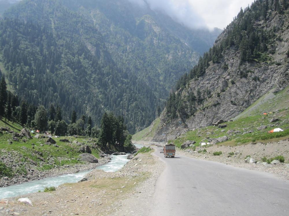 Beautiful Kashmir.