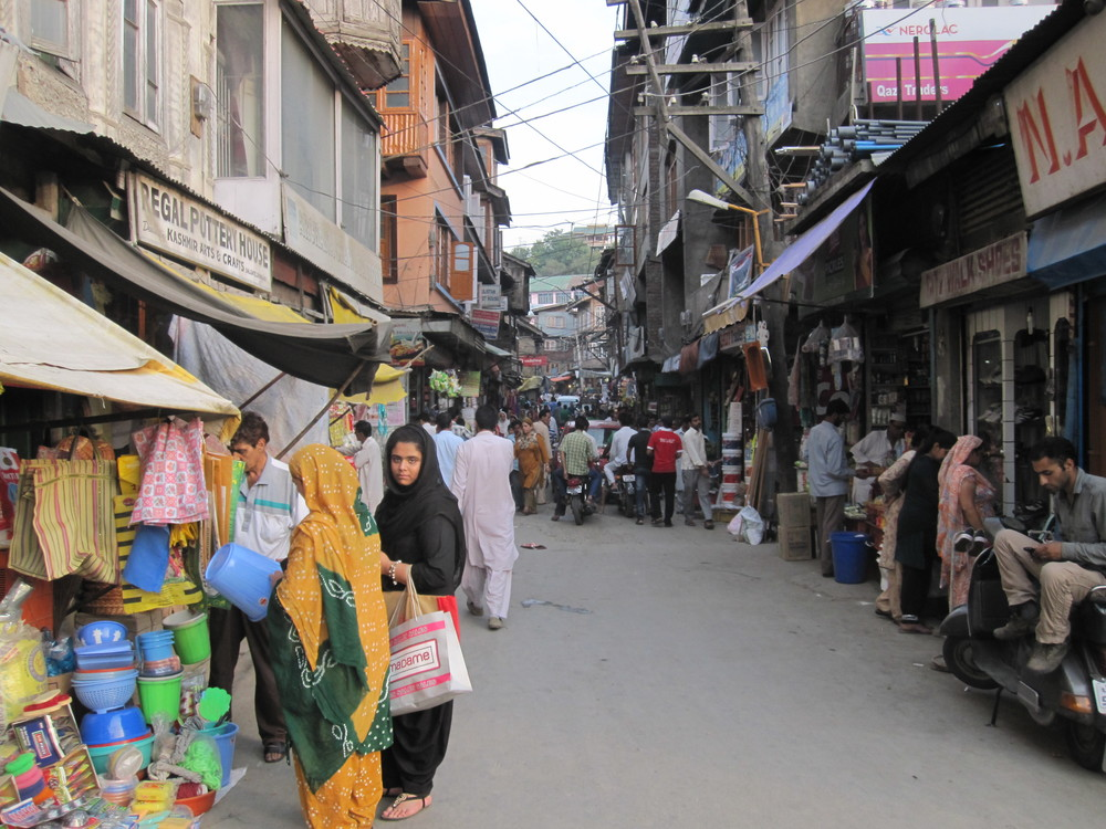 Local Market - Srinigar.