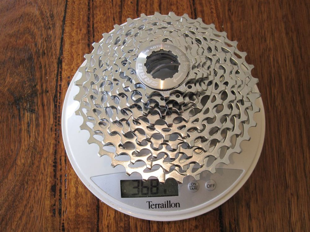 SRAM 10 speed PG-1070 Cassette - 368 grams