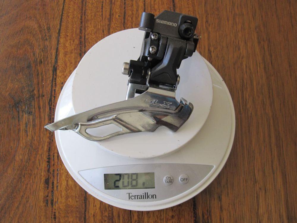 Shimano SLX Front Derailluer - 208 grams