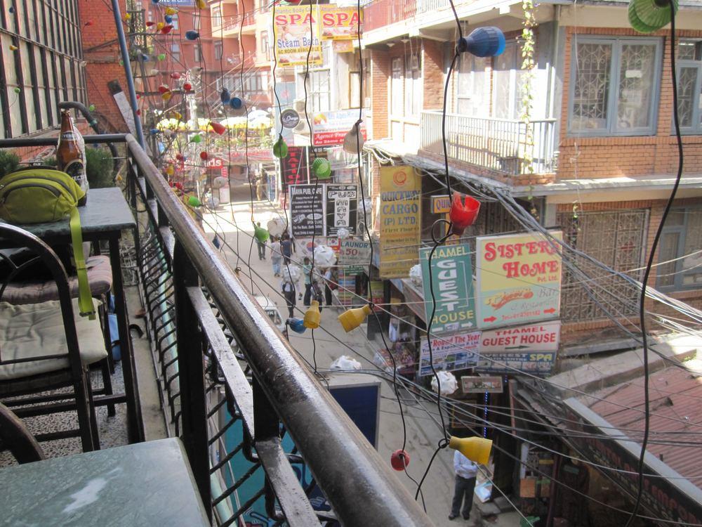 Busy downtown Thamel, Kathmandu