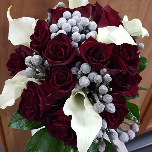 Another recent bridal bouquet