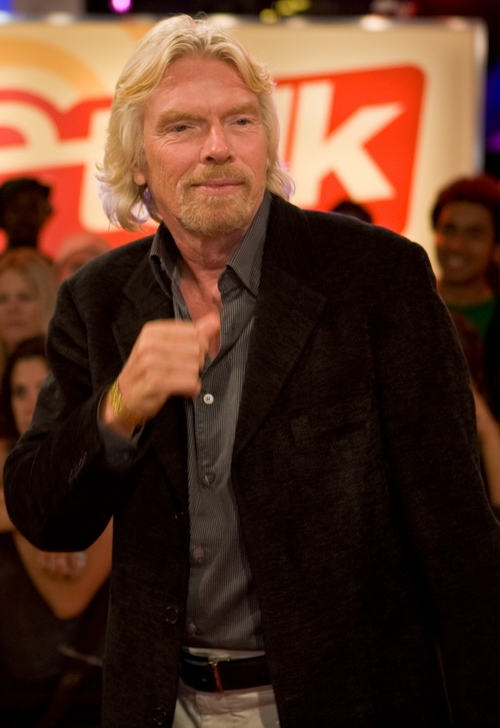 Sir Richard Branson (c) wikipedia