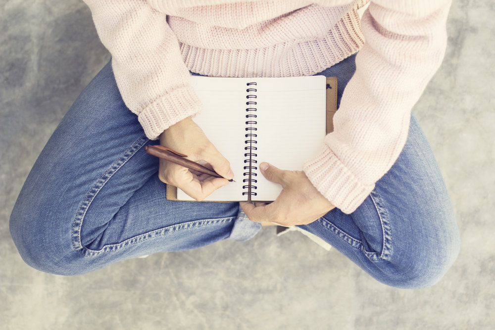 Girl with Journal