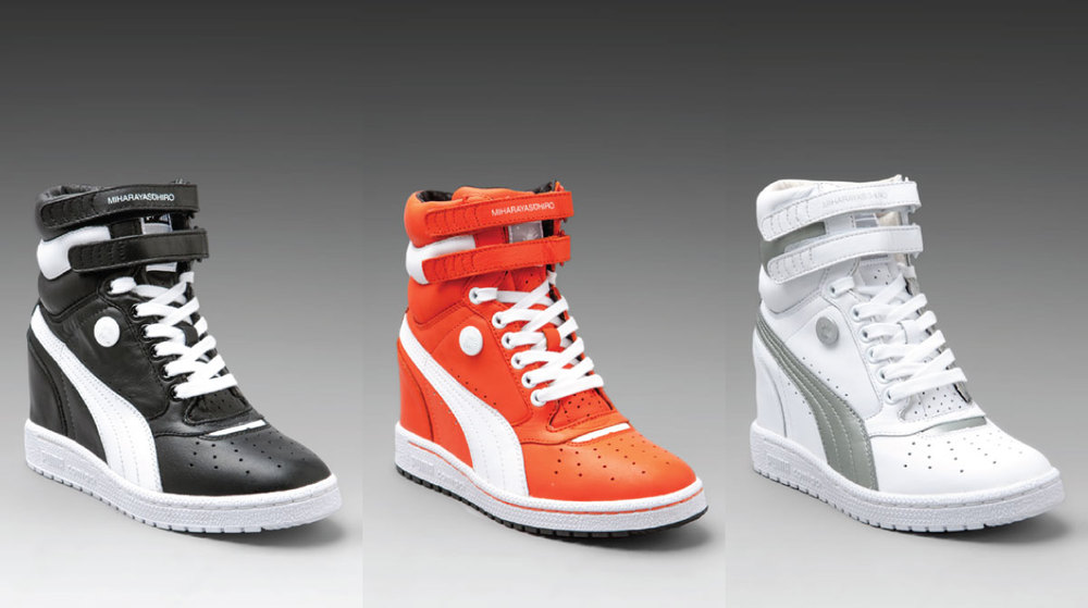 PUMA Sneaker Wedges by Mihara — ShoeQUEENDOM ae1f3c08f