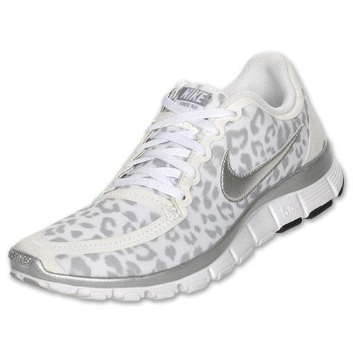 d30d2cd5cc21 Women s NIKE FREE 5.0 V4 Snow Leopard Cheetah Animal Shoes 8 8.5 9 9.5 NIB