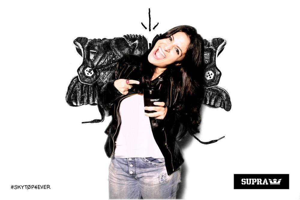 Supra Skytop Blue Velvet viaShoeQUEENDOM.com