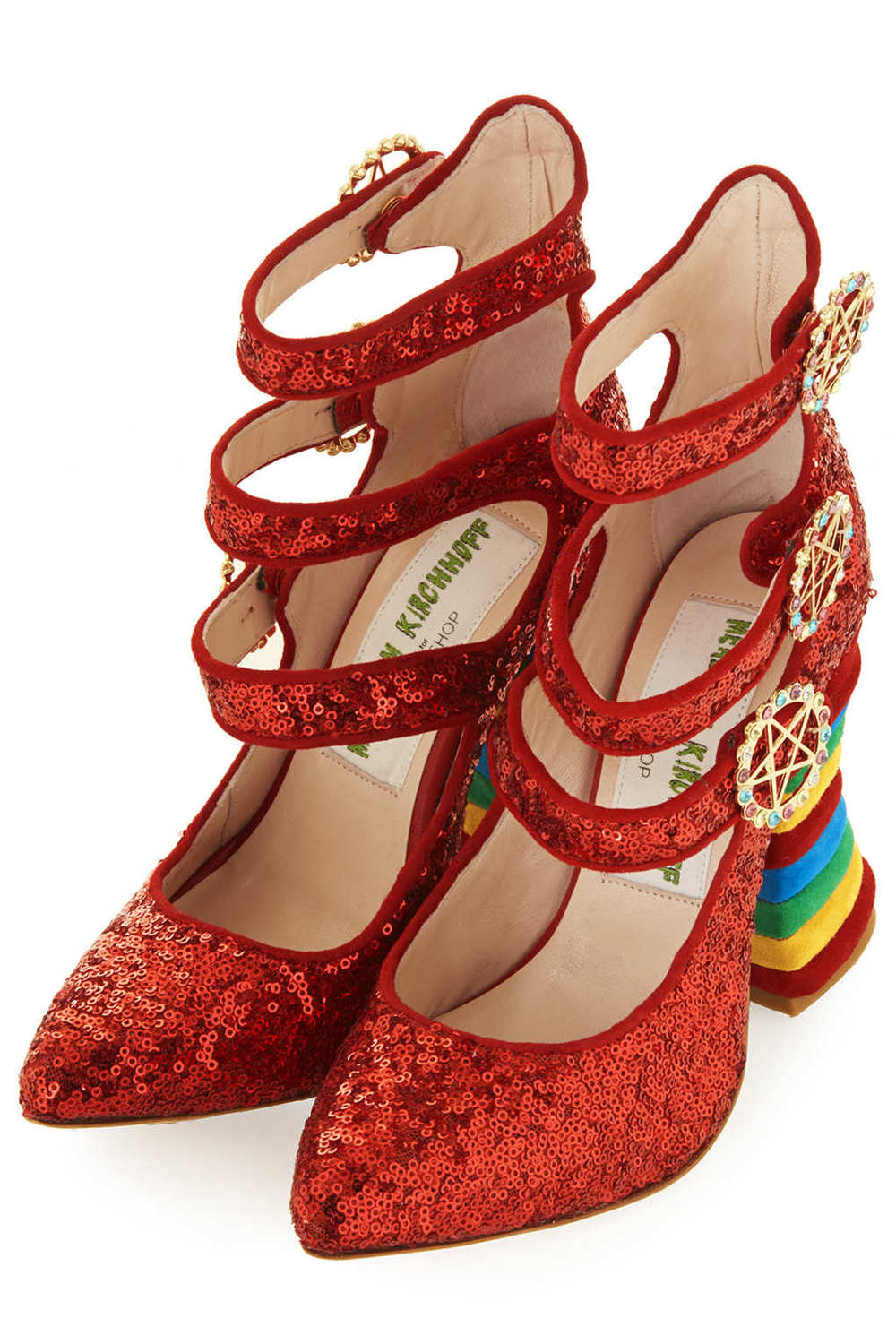 RED SEQUIN RAINBOW HEELS BY MEADHAM KIRCHHOFF 3.jpg