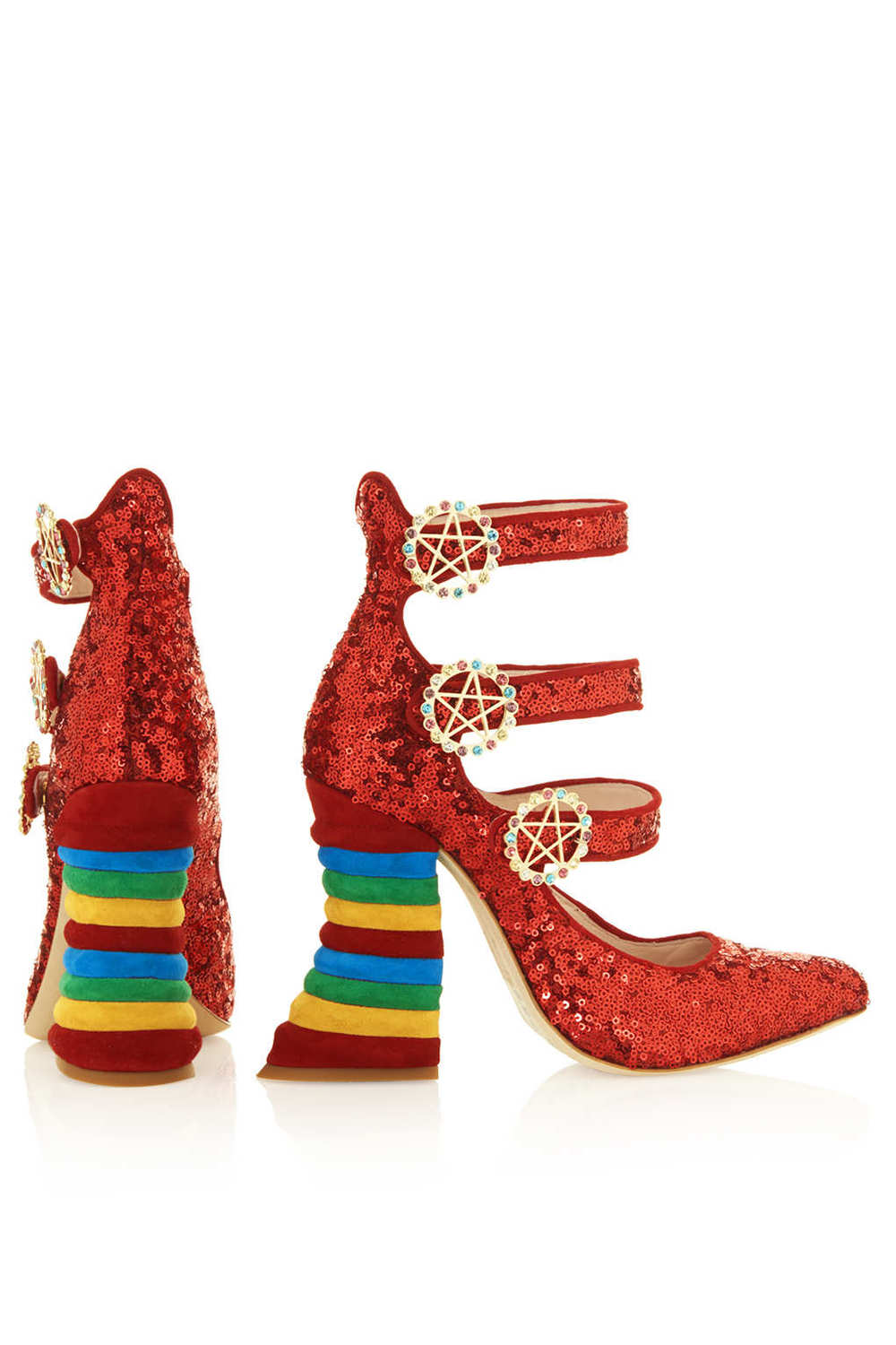 RED SEQUIN RAINBOW HEELS BY MEADHAM KIRCHHOFF 4.jpg