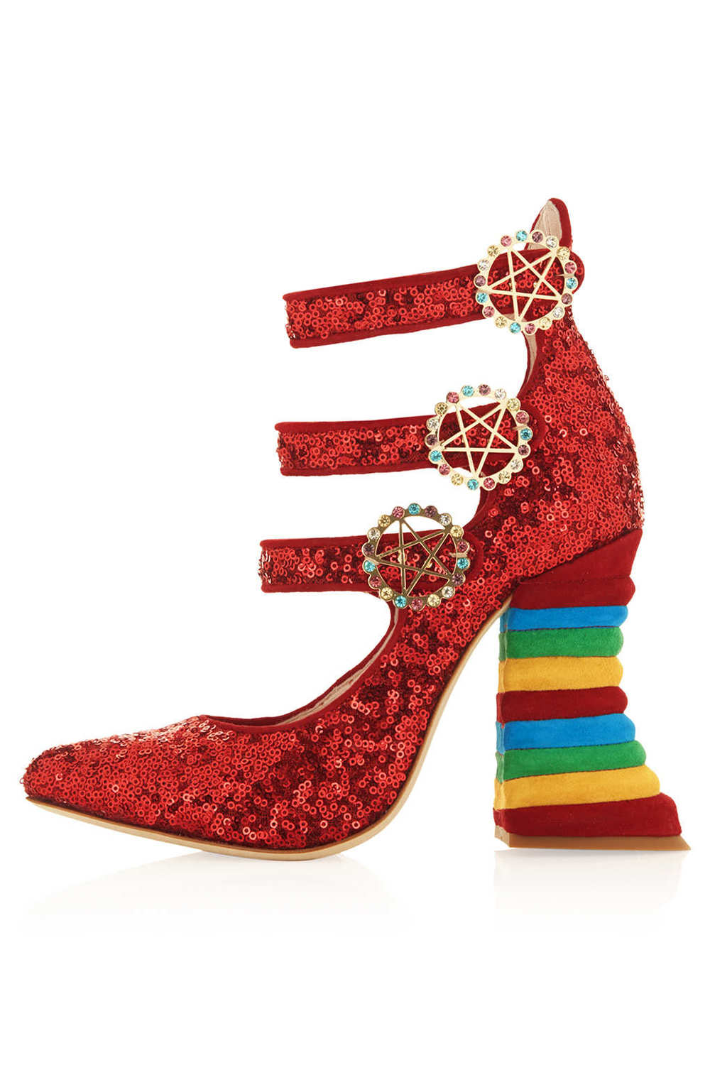RED SEQUIN RAINBOW HEELS BY MEADHAM KIRCHHOFF 2.jpg
