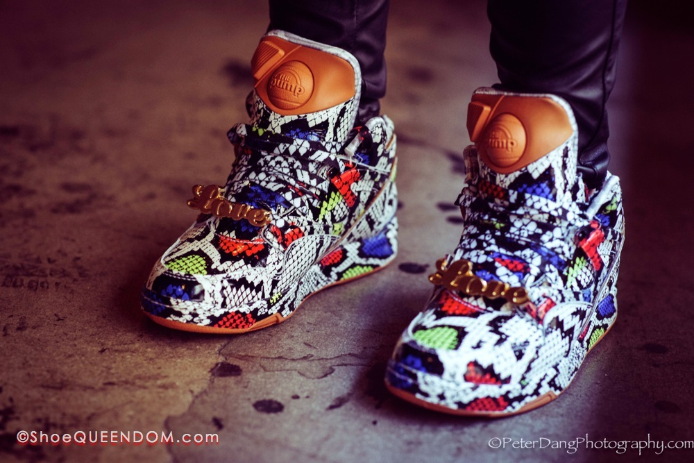 "Melody Ehsani x Reebok Classic Pump Omni Lite ""Love Me or Leave Me Alone"
