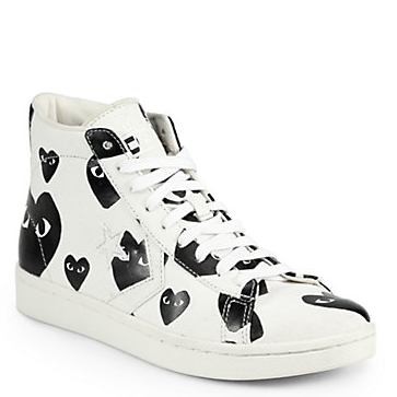 I'm sorry, I wear my heart on my slee... I mean, shoes. <3