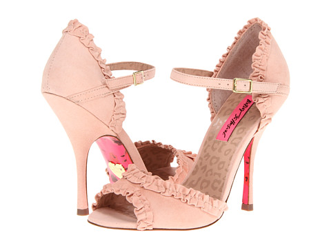 75% OFF - $32.49!!!    So dainty and sweet! A skirt would bring your flirt out with these ruffle heels :)