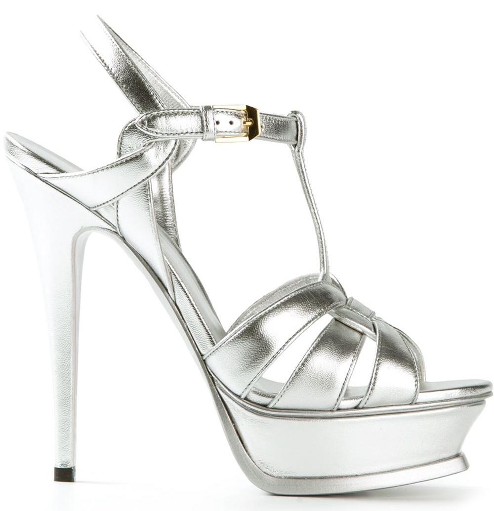 Nice Silver Heels