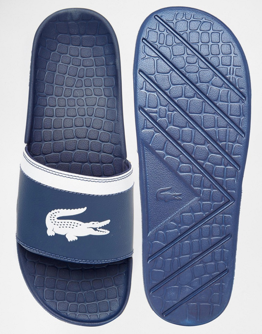 Hi Lacoste, these look like old man pool shoes. Meh.