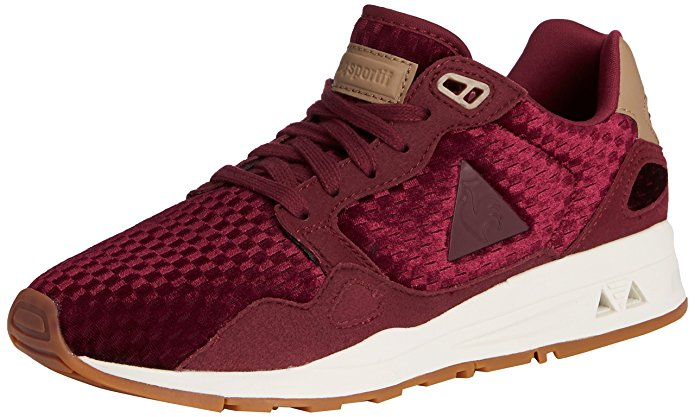 Le Coq Sportif - $75 I likey! I likey a lot! The weave pattern is made out of velvet, making for a very creative shoe. Super sporty and comfortable.
