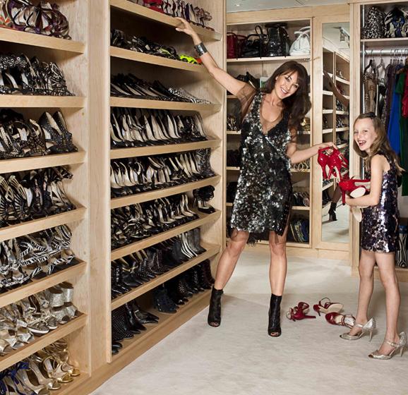 Tamara Melon Shoe Closet