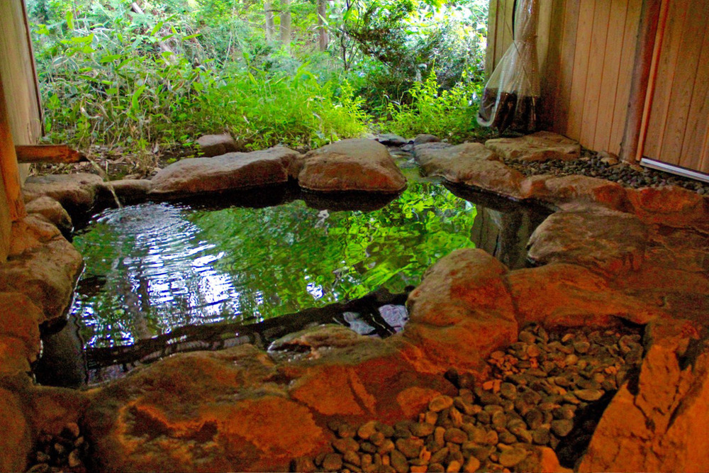 """Onsen"" in Japanese Inn."