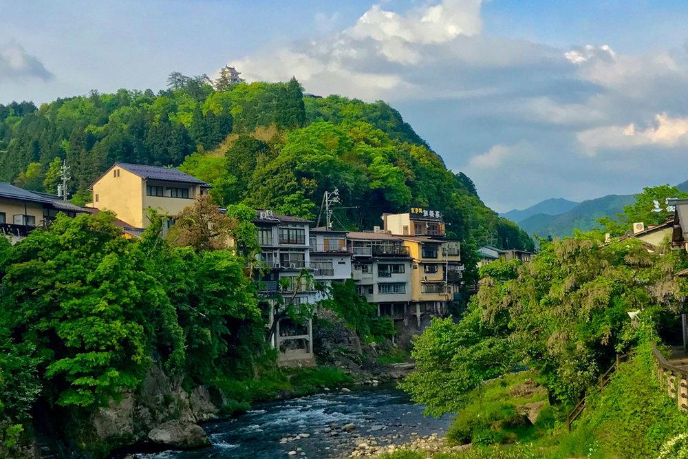GuJo Hachiman, The Japan Alps