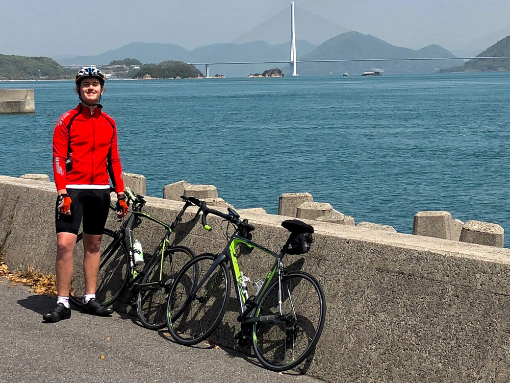Riding the Shimanami Kaido on the Inland Sea