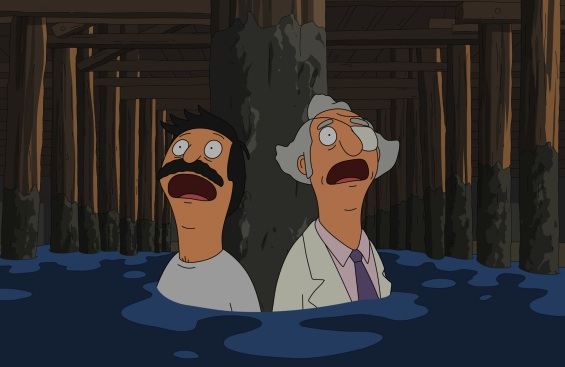 Bob Belcher_Mr. Fischoeder_World Wharf Two