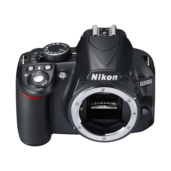 One of our cameras: nikon d3100, 14.2 MP