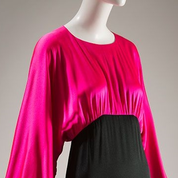 Yves Saint Laurent Dress (Image via FIT)