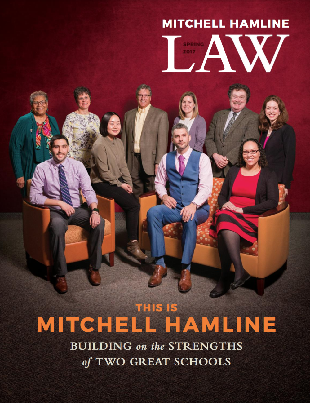 Neon Esquire featured in the inaugural issue of  Mitchell Hamline Law .